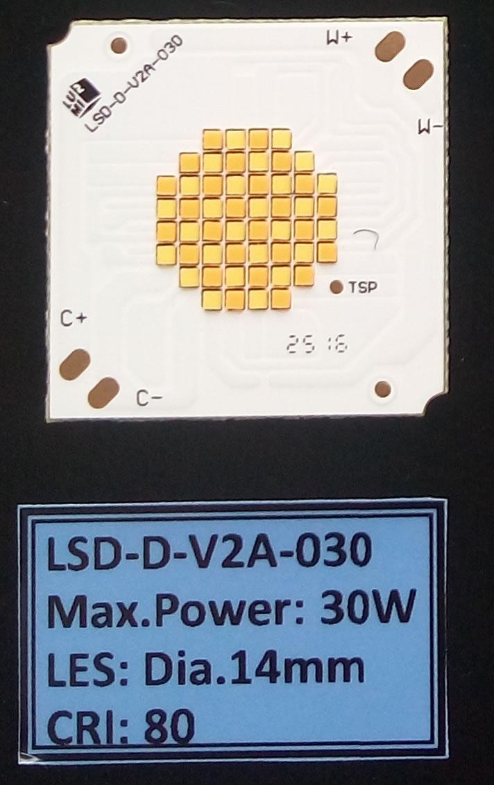 LED灯珠 三星双色COB 30W