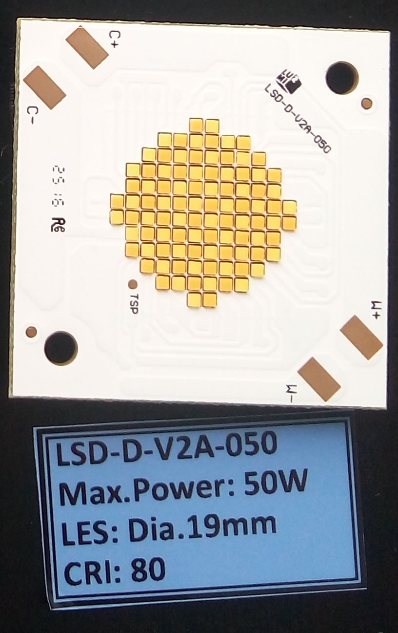 LED灯珠 三星双色COB 50W